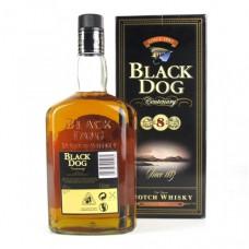 BLACK DOG 8YRS (1L)